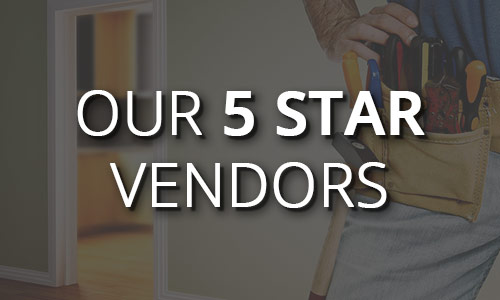 Our 5 star vendors