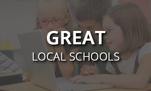 Great local schools