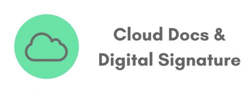Cloud Docs & Digital Signature