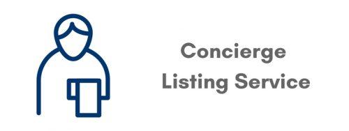 Concierge Listing Service
